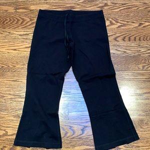 Lululemon Black Crop Pants
